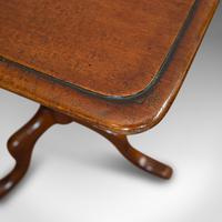 Antique Wine Table, English, Mahogany, Side, Lamp Stand, Victorian c.1870 (8 of 10)