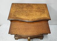 Small Burr Walnut Serpentine Chest of Drawers (2 of 10)