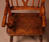 Rare Childs Mendlesham Chair in Yew Wood (8 of 8)