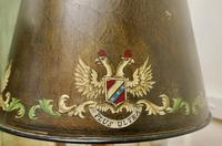 A Pair of Large Bronze Coloured Toleware Table Lamps (5 of 9)
