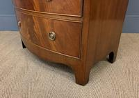 Flame Mahogany Bow Fronted Chest on Chest (12 of 14)