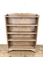 Pair of Antique Oak Bookcases (3 of 8)