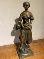 Spelter Figure of a Water Carrier (3 of 6)