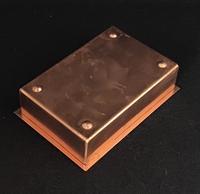 Arts & Crafts Copper Trinket Box (3 of 5)