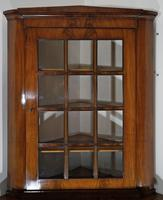 Mahogany Glazed Display Cabinet with Cupboard Below (2 of 7)
