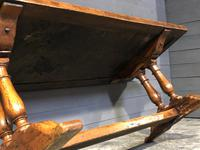 Wonderful French Chestnut Farmhouse Refectory Dining Table (14 of 37)
