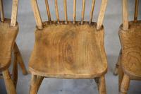 4 Beech & Elm Kitchen Chairs (6 of 12)