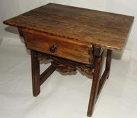 Spanish Pine Low Side Table (6 of 6)