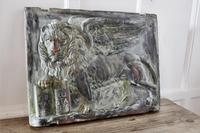 Heavy Bronze Effect Wall Plaque Depicting the Winged Lion of St Mark, Venice (4 of 11)