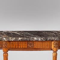 A Louis XV1 Provincial Walnut Console Table (2 of 3)