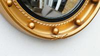 Art Deco Regency Style, Convex, Porthole  Mirror (7 of 13)