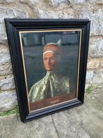 19th C Oil On Canvas Of Octavia Hill's Portrait Of Leonardo Loredan (2 of 6)