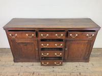 George III Oak Dresser Base (8 of 23)