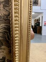 French 19th Century Gilt Wall Mirror with Carved Decoration (9 of 9)