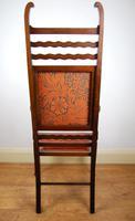 Edwardian Art Nouveau High Back Open Armchair (4 of 10)