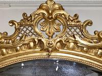 Large Gilt Oval Mirror (3 of 8)