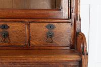 19th Century Solid Oak Bookcase (5 of 11)