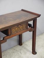 Chinoiserie Mahogany Side Table by Whytock and Reid (9 of 13)