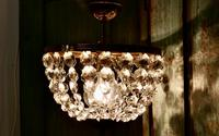 Beautiful French Empire Style Basket Chandelier (4 of 6)
