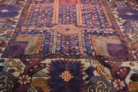 Large Mid 20th Century Colourful Flat Weave Woolen Rug (12 of 15)