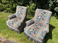 Pair of Small French Armchairs (6 of 8)