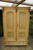 Fabulous & Large Old Pine Double 'Knock Down' Wardrobe - We Deliver! (12 of 18)