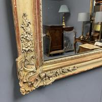 Very Large French Paint & Gilt Mirror (2 of 9)