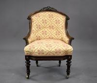 Victorian Rosewood Ladies & Gents Armchairs (16 of 22)