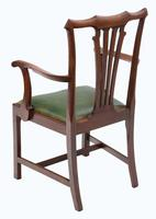 Set of 8 Mahogany Dining Chairs mid-19th Century