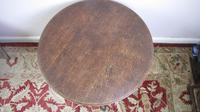 19th Century Oak circular  table (5 of 5)