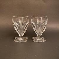 Pair St Louis Crystal Glasses