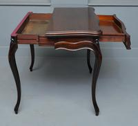 French Louis XV Mahogany Side Table / Hall Table (7 of 16)