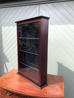 Mahogany Glazed Shop Display Cabinet (2 of 5)