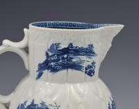 Caughley Porcelain Mask Jug Fisherman & Cormorant Pattern (8 of 13)