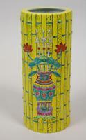 Good Pair of Chinese Tongzhi Period Bamboo Vases (3 of 9)