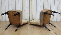 Pair of Antique French Slipper Chairs (8 of 9)