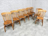 Set of 8 Antique Windsor Kitchen Chairs (5 of 6)