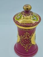 Antique Opaline Glass Jar (3 of 10)