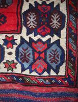 Gorgeous Vintage Tajikistan Tribal Wool Rug (6 of 6)
