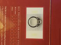 Vintage Deco Design 2.81 Carat Emerald Cut Diamond & Platinum Ring (2 of 10)