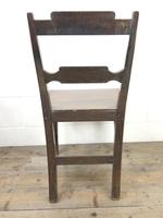 Pair of Welsh Oak Bar Back Farmhouse Chairs (8 of 15)