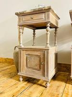 Antique French Bedside Tables / Marble Bedside Cabinets / Nightstands (7 of 7)