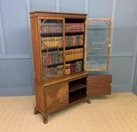 Burr Walnut Bookcase by Jas Shoolbred (17 of 19)