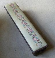Victorian Mahogany Framed Foot Stool (6 of 6)