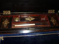 Quality Betjemann Coromandel Writing Box c.1870 (6 of 15)