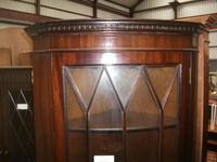 Astral Glazed Mahogany Corner Cabinet (2 of 2)