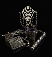 Victorian Sterling Silver Chatelaine (8 of 17)