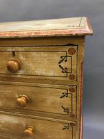 Victorian Painted Chest of Drawers (10 of 14)