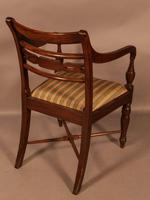 Rare Set of 10 Regency Period Mahogany Dining Chairs (16 of 17)