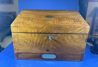 Victorian Walnut Stationary Box (2 of 15)